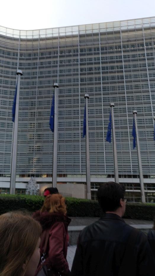 Európska komisia sa nachádza v srdci Bruselu, koniec koncov ako väčšina dôležitých inštitúcií.